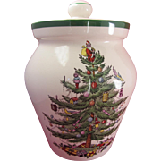 Spode Christmas Tree Large Cookie Jar