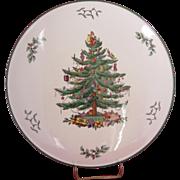 "11.5"" Spode Christmas Tree Cake Plate"