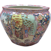 """Medium Chinese Koi Pot - 13x10"""""""