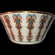 """10.5"""" Lenox Lido Bowl- 24k Gold Trim"""