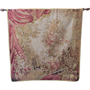 Aubusson Tapestry-French Rose Garden