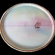 Nippon Porcelain Plaque