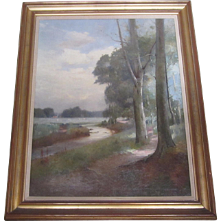 Landscape Painting by Thomas Bunting