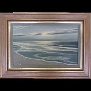"""""""Shimmering Sands""""-Robert Weeks Signed Original Seascape"""