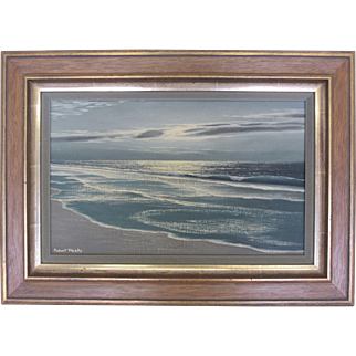 """Shimmering Sands""-Robert Weeks Signed Original Seascape"
