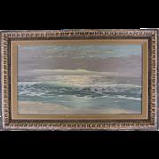 "Signed Original Seascape by Robert Weeks-""Ocean Swell"""