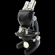 Vintage Bausch & Lomb- 3 Objective Microscope