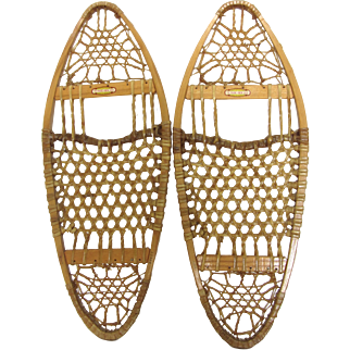 Pair of Vintage LL Bean Snowshoes