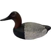Michigan Canvasback Drake Duck Decoy-Gordon Fox