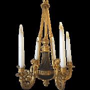 Maison Millet Bronze & Ormolu Chandelier-Circa 1860