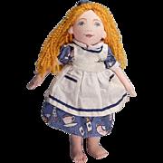Cute little Cloth Bean Bag Alice and Wonderland doll