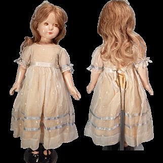 """Fabulous 20"""" Effanbee American Children Doll."""
