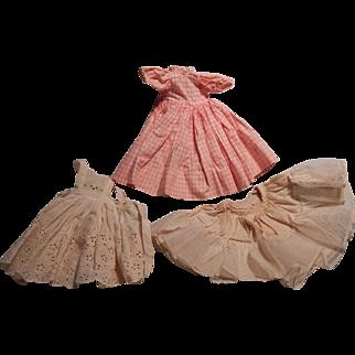 Nice Little Women Madame Alexander doll dress for Beth