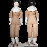 "wonderful 24"" China Doll on Original body."