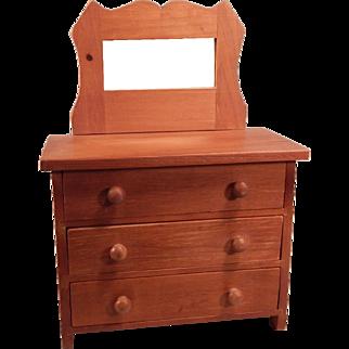 Wonderful hand crafted Cherry Dresser