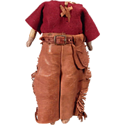 Darling Cowboy Outfit on Kidolene body