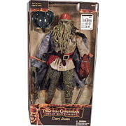 Cool Davy Jones Action figure from Pirates of the Caribbean movie.  Mint in box