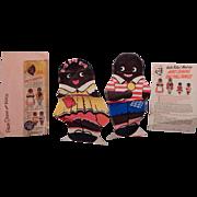 Very Cute hard to fine Diana and Wade Premium Rag dolls