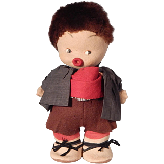 Cute little Felt Character doll