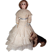 "Fabulous 18"" Jumeau French Fashion doll"