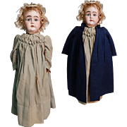 Fantastic early Kestner socket head all original, Great clothing