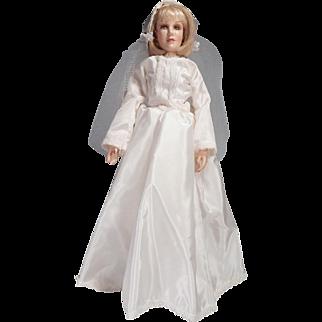 Pretty Kings State fashion doll Dressed as Bride
