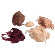 Small Lot of Vintage Mohair wigs.