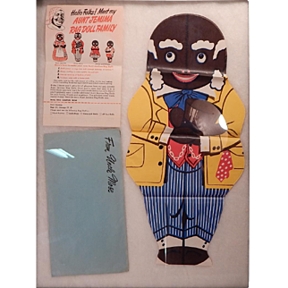 Cute Mose; an Aunt Jemima premium doll.