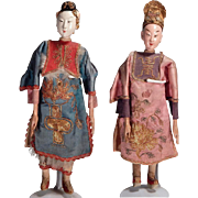 A Pair of Lovely Chinese Opera Dolls.