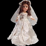 Cute little Toni P90 Dressed as a bride