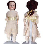 Nice early German Bisque shoulder head doll