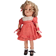 Nicely restored Ideal Shirley Temple doll