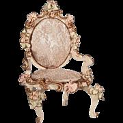 Wonderfully elaborate Spielwaren arm chair