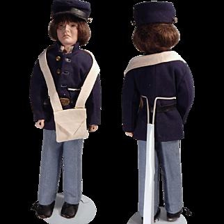 Neat Union solder artist doll