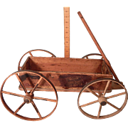 Darling Old primitive Toy Wagon