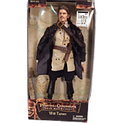 Wonderful Mint in Box Will Turner action figure by Zizzle