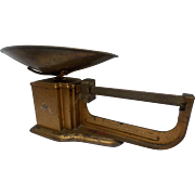 Triner Metal Scale With Brass Pan