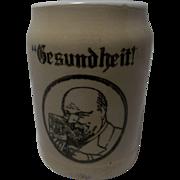 Vintage Gesundheit Beer Stein