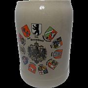 Gerz Deutschland Beer Stein/Mug