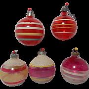 World War 2 Vintage 1942 Christmas ornaments