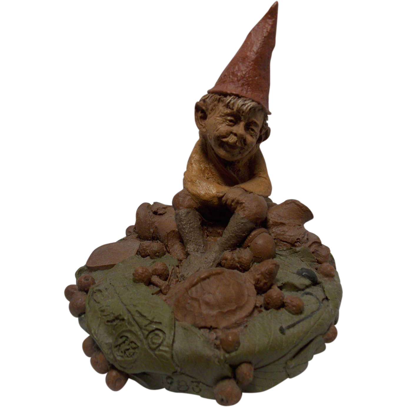 Vintage Tom Clark Gnome (Retired) Freddy, the Freshwater Fisherman