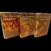 Nancy Drew Mystery Books #24, 25 and 31