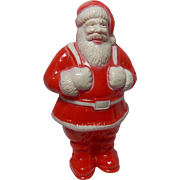 "Vintage 6"" Irwin Santa Candy Holder"