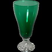 Anchor Hocking Burple Green Tea Glass