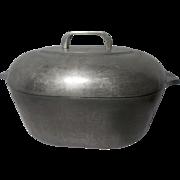 Vintage Wagner Ware Magnalite 4265 P Roaster Pan with Lid