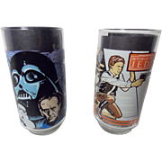 Star War Collector Glasses