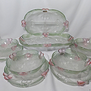 Vintage Mikasa Cherry Jubilee Serving Pieces (10)
