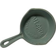 Vintage Atlanta Stove Works Cast Iron Skillet Ash Tray