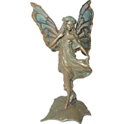 Fantastic Bronze Fairy Statue with Wings