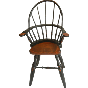 Vintage Wooden Chair for Dolls and Teddy Bears